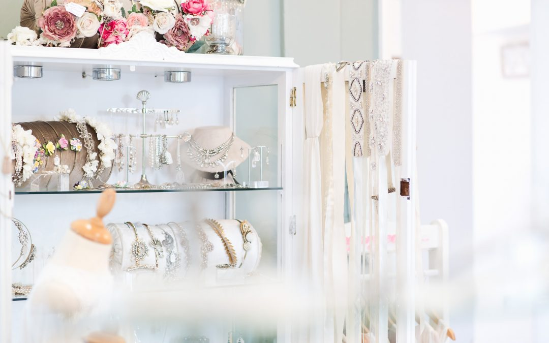 Commercial Photography – Day in the Life of a business – Luella's Bridal Boutique