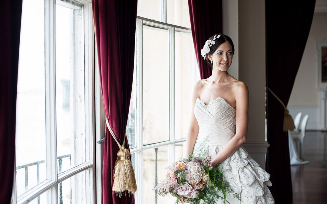 Editorial Shoot / Beautiful Baroque for the Modern Bride